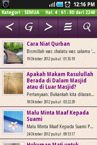 Aplikasi Islam Menjawab - Android