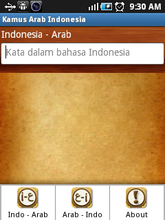 Kamus Arab Indonesia Android
