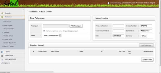 SIPBT-Form Order