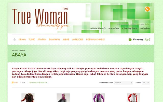 Truewoman Indonesia - Toko Online